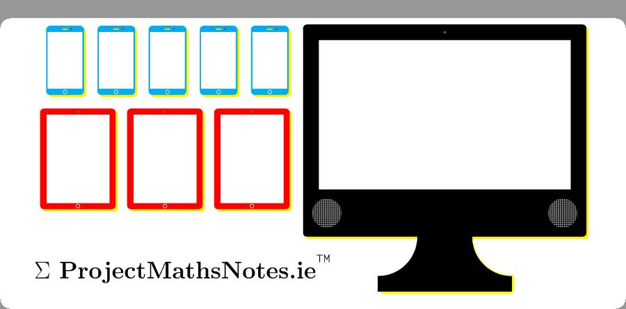 Project Maths Notes phones tablets desktop